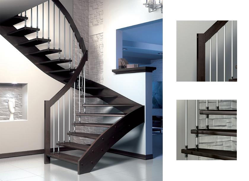 Serramenti produzione scale per interni tecno stil - Scale in legno prefabbricate ...