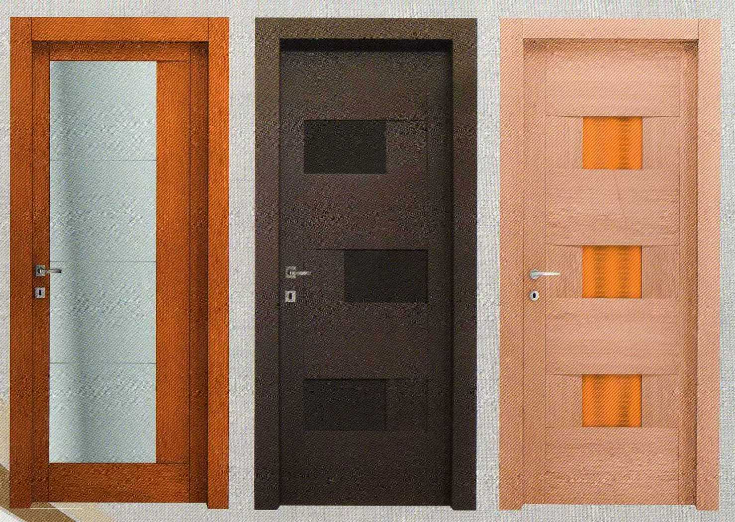 Porte in alluminio per interni prezzi idea creativa - Porte in legno e vetro per interni ...